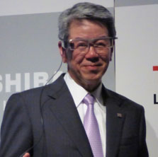 Toshiba targeting 1 trillion yen sales expansion in three years