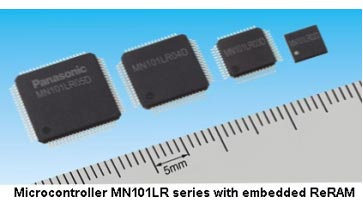 Panasonic to manufacture embedded ReRAM microcontrollers